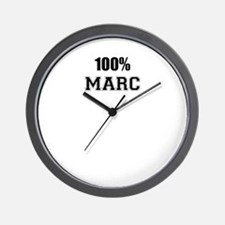 100% MARC Wall Clock