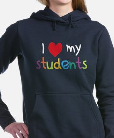 Cute Teacher Women's Hooded Sweatshirt