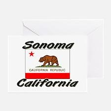 Sonoma California Greeting Cards (Pk of 10)