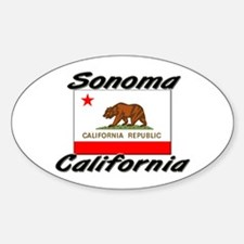 Sonoma California Oval Decal