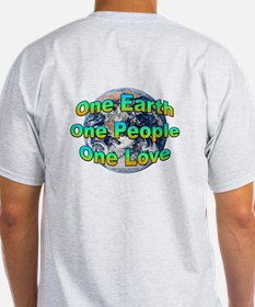 One Earth/People/Love T-Shirt