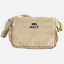 100% MACY Messenger Bag