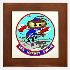 USS Hornet (CVA 12) Framed Tile