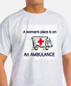 Women's place ambulance T-Shirt