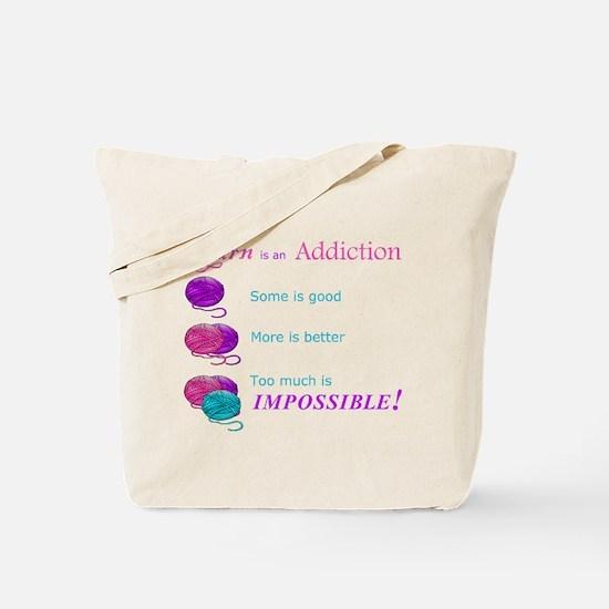 Unique Yarn Tote Bag