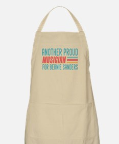 Another Proud Musician For Bernie Apron