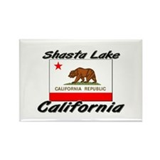 Shasta Lake California Rectangle Magnet