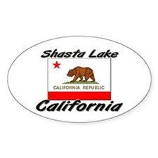 Shasta Lake California Oval Decal
