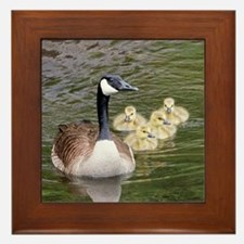 Cute Water animals Framed Tile