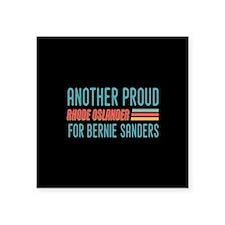Another Proud Rhode Oslander For Bernie Sticker