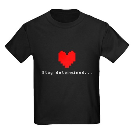 CafePress Stay Determined - Undertale T-Shirt