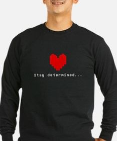 Stay Determined - Undertale Long Sleeve T-Shirt