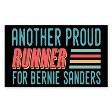 Another Proud Runner For Bernie Decal