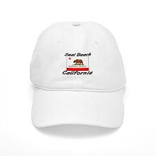 Seal Beach California Baseball Cap