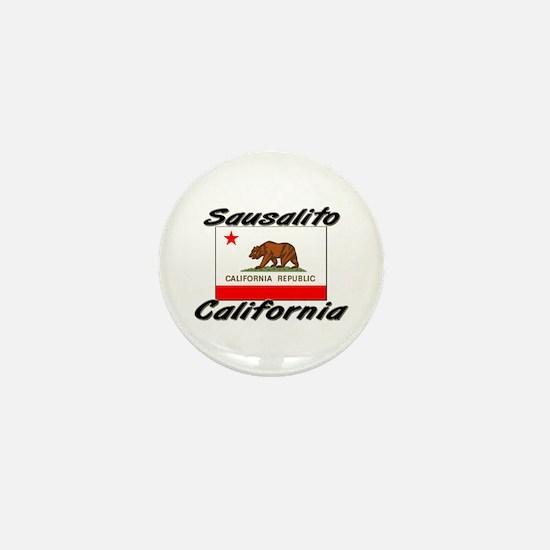 Sausalito California Mini Button