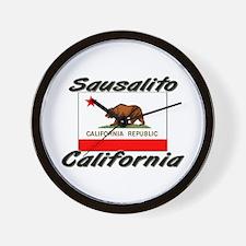 Sausalito California Wall Clock