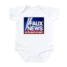 FAUX NEWS Infant Bodysuit