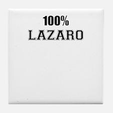 100% LAZARO Tile Coaster