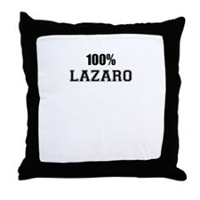 100% LAZARO Throw Pillow