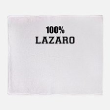 100% LAZARO Throw Blanket