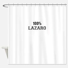 100% LAZARO Shower Curtain