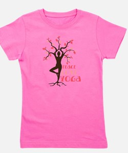 Cute Yoga Girl's Tee