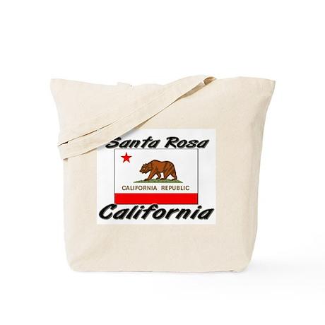 Santa Rosa California Tote Bag