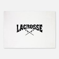 lacrosse22.png 5'x7'Area Rug