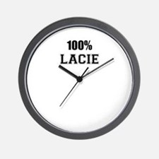 100% LACIE Wall Clock