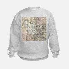 Vintage Map of Salt Lake City (189 Sweatshirt