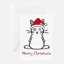 Santa Bunny Greeting Card