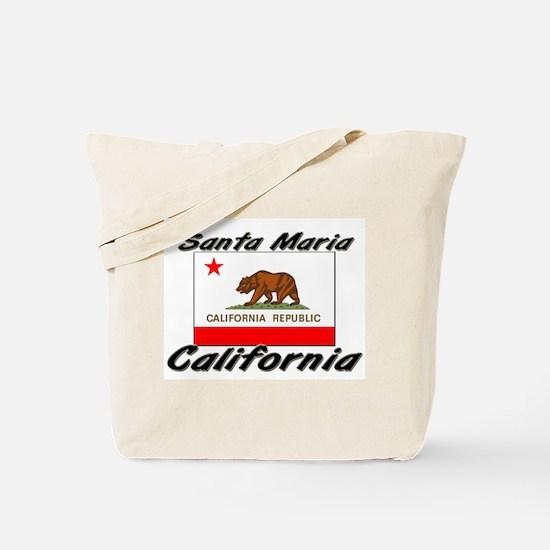 Santa Maria California Tote Bag