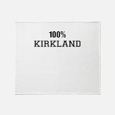 100% KIRKLAND Throw Blanket