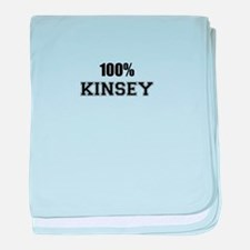 100% KINSEY baby blanket