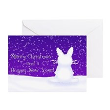 Snow Bunny Greeting Cards (Pk of 20)