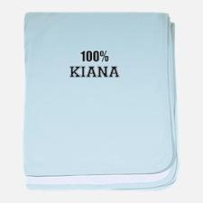 100% KIANA baby blanket