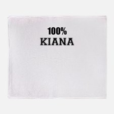 100% KIANA Throw Blanket