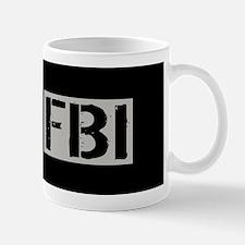 FBI: FBI (Black Flag) Mug