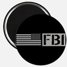 "FBI: FBI (Black Flag) 2.25"" Magnet (10 pack)"