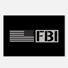 FBI: FBI (Black Flag) Postcards (Package of 8)