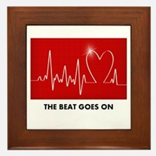 The Beat Goes On - Funny Post-Heart Surgery Framed