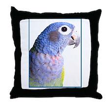 Blue-Headed Pionus - Throw Pillow