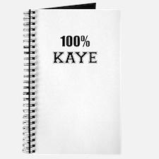 100% KAYE Journal