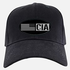 CIA: CIA (Black Flag) Baseball Hat