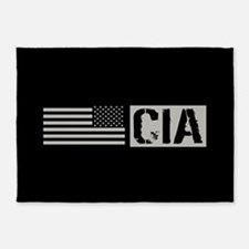 CIA: CIA (Black Flag) 5'x7'Area Rug
