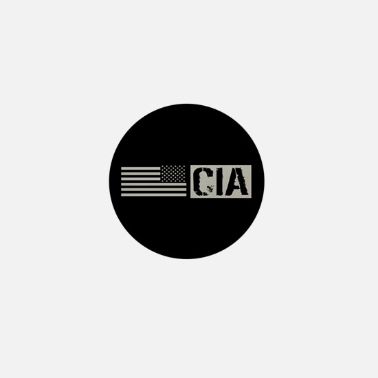 CIA: CIA (Black Flag) Mini Button