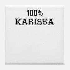 100% KARISSA Tile Coaster