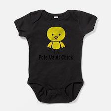 Unique Pole vault Baby Bodysuit