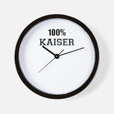 100% KAISER Wall Clock