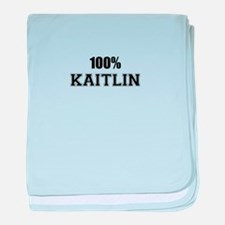 100% KAITLIN baby blanket